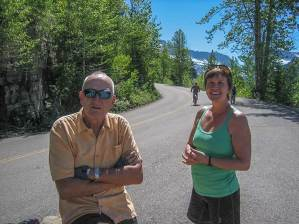 2017 Bike ride from Avalanche Campground to The Loop by Val Cox