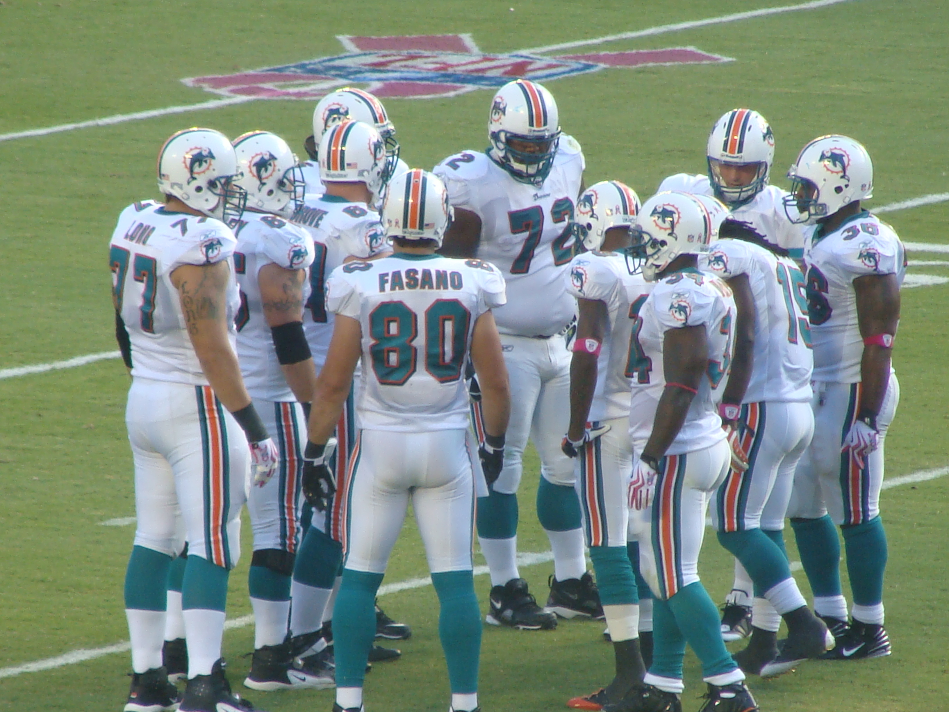 The Dolphins exuded confidence in the second quarter