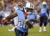 10. Chris Johnson (Tennessee Titans) : 276 courses - 1243 yards (77.7/match) - 4.5 yds/course - 6 TD