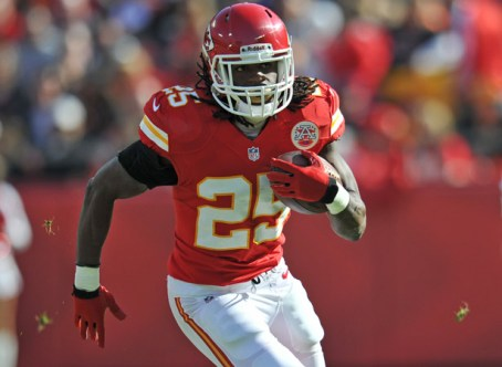 4. Jamaal Charles (Kansas City Chiefs) : 285 courses - 1509 yards (94.3/match) - 5.3 yds/course - 5 TD