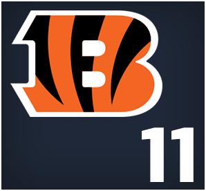 Cincinnati Bengals : 11