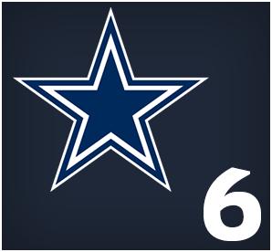 Dallas Cowboys : 06