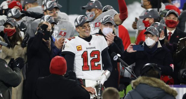 NFC Champion: Tampa Bay Buccaneers!