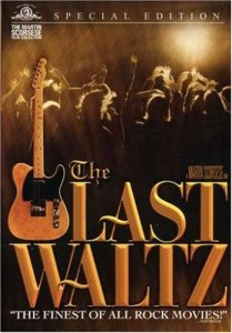 """On Thanksgiving Day, November 25, 1976, the legendary rock group THE BAND performed The Last Walz, their """"farewell concert appearance."""