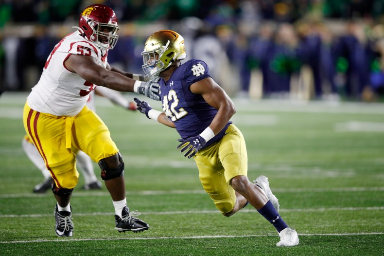 2020 NFL Draft: Notre Dame EDGE Julian Okwara scouting report