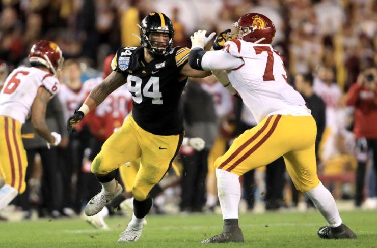 2020 NFL Draft: AJ Epenesa leaving Iowa early for NFL