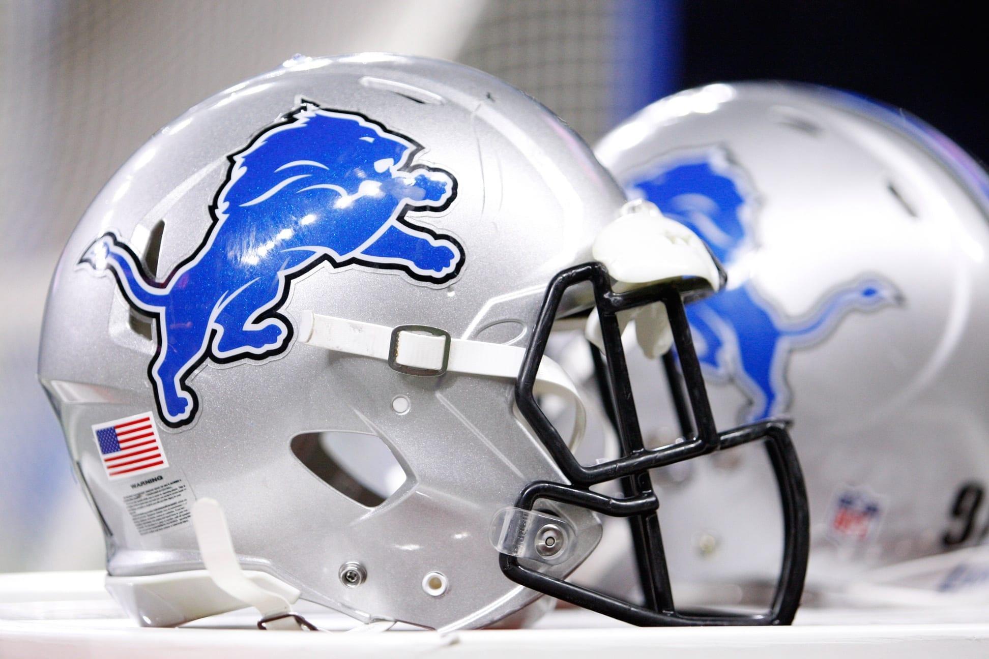 Lions-helmet