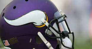 Vikings-Helmet Vikings Interviewing Sean Ryan & Dan Campbell For OC Job