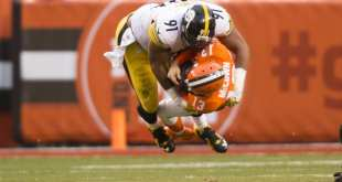 USATSI_9693889_168383805_lowres Steelers DE Stephon Tuitt Week-To-Week With Biceps Injury