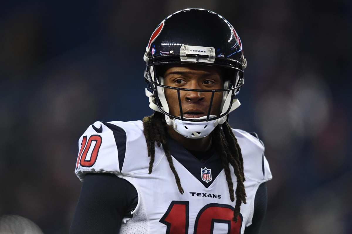 DeAndre Hopkins Has No Plans To Hold Out For New Deal, Will Report To Camp Monday