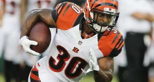 USATSI_9505353_168383805_lowres Bengals Place RB Cedric Peerman On Injured Reserve