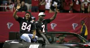 USATSI_9782603_168383805_lowres Falcons Will Hold Retirement Ceremony For Michael Vick & Roddy White Next Week
