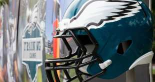 Eagles-Helmet-3 Eagles Sign WR Keevan Lucas, Waive LB Steven Daniels