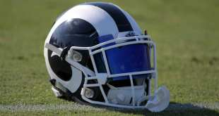Rams-Helmet-9 Rams Sign WRs Justin Thomas & C.J. Germany, Waive FB Zach Laskey