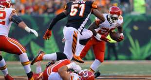 USATSI_10227948_168383805_lowres Chiefs Release Veteran RB C.J. Spiller & Promote RB Akeem Hunt