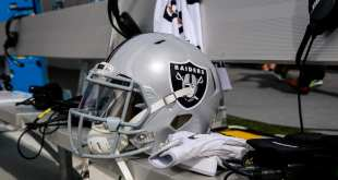 Raiders-Helmet-7 AFC West Notes: Broncos, Chargers, Raiders