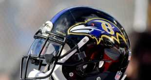 Ravens-Helmet-3 AFC Note: Browns, Colts, Ravens
