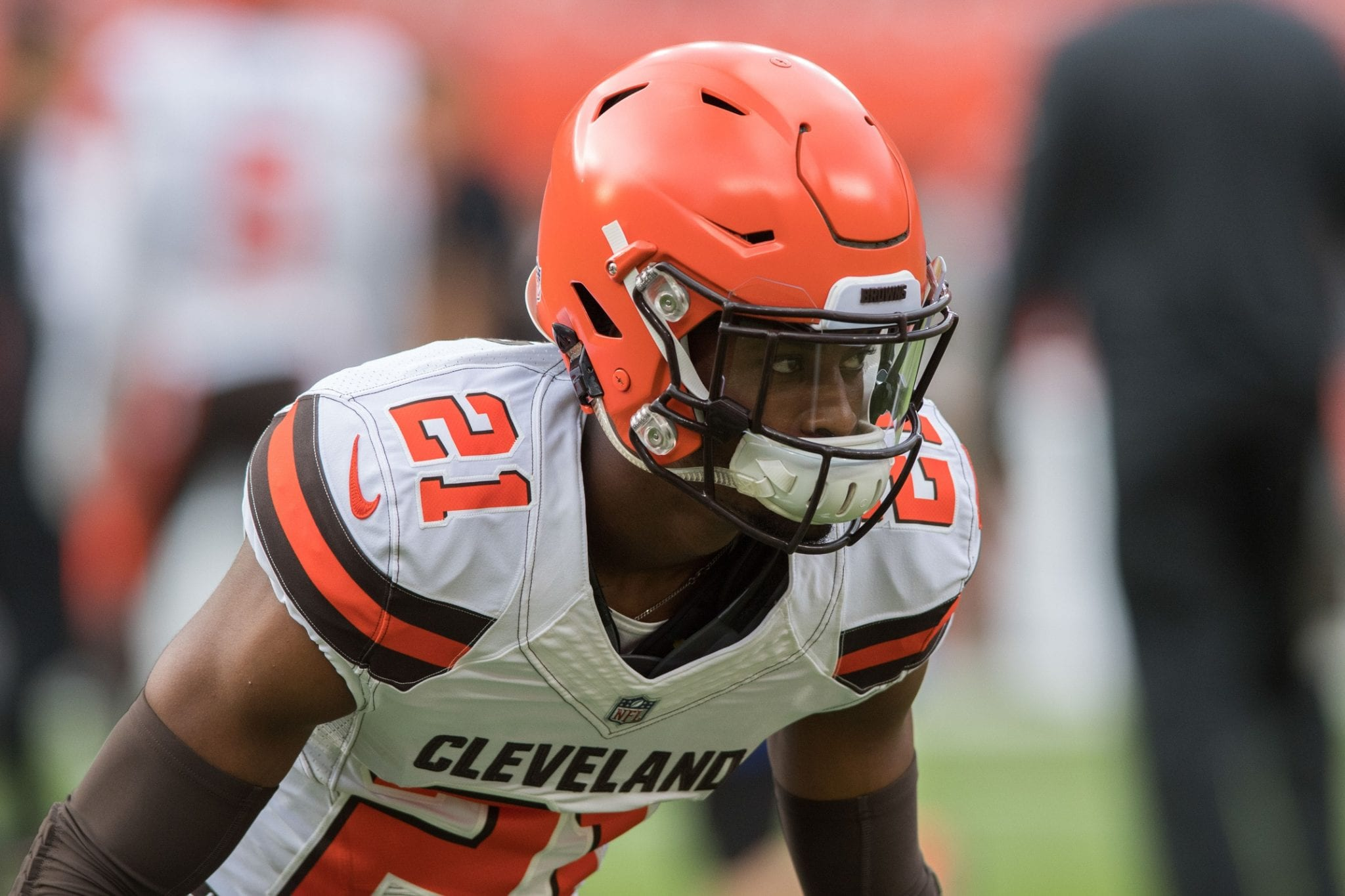 Browns First-Round CB Denzel Ward Leaves Game With Back Injury