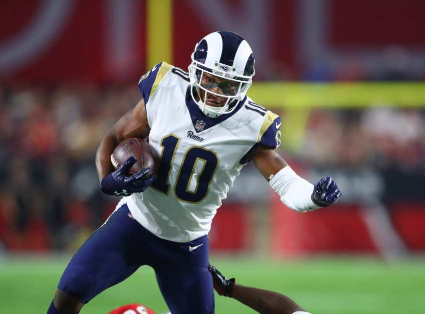 new arrival db17e 80869 Rams Place WR/KR Pharoh Cooper On IR, Re-Sign WR JoJo Natson ...