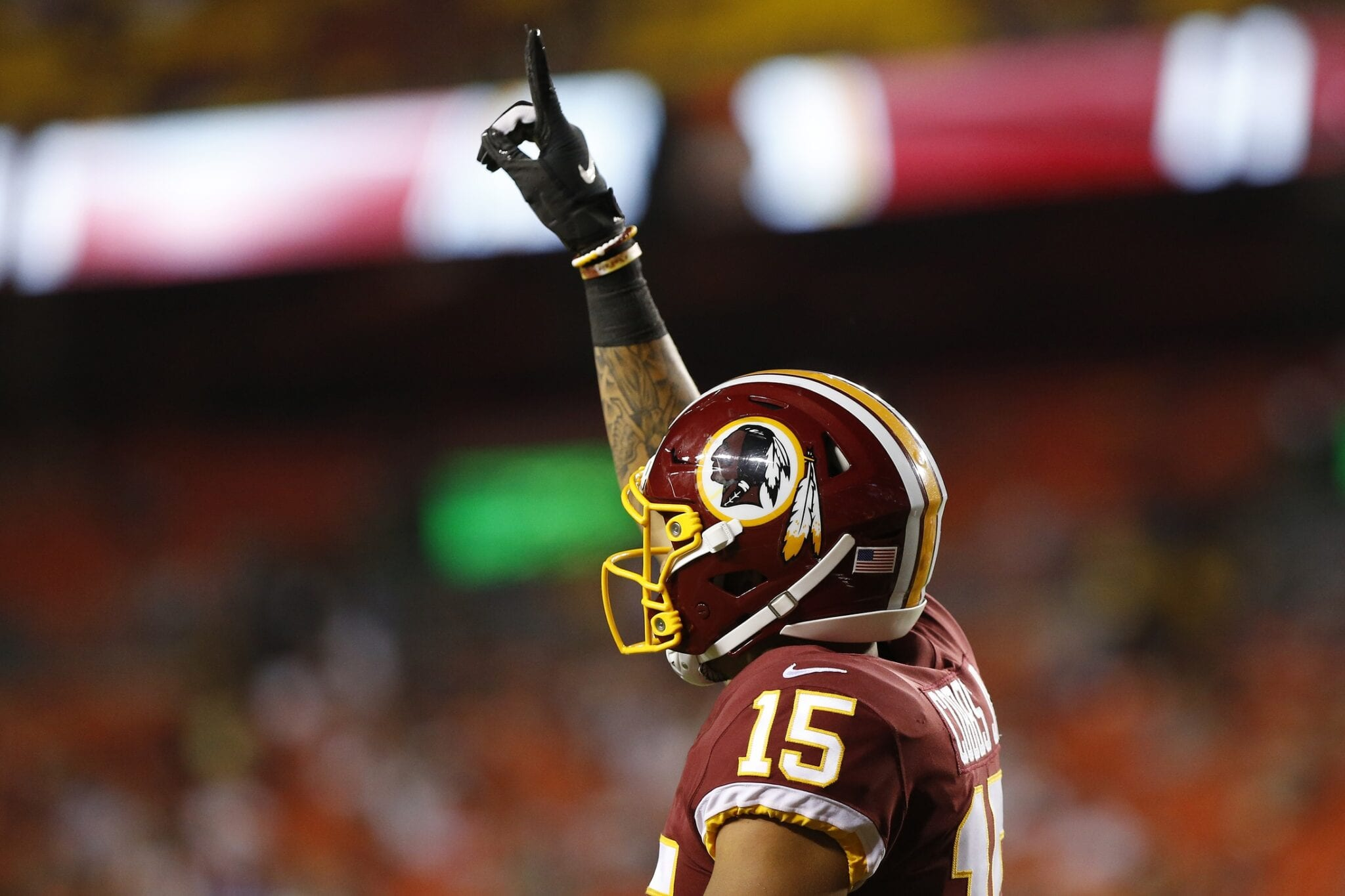 save off 69102 b8733 Saints Signing WR Simmie Cobbs Off Redskins' P-Squad ...