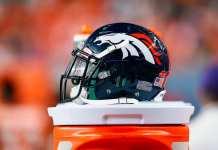 Broncos Helmet