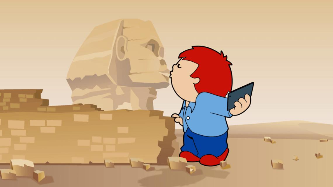 Sphinx küssen