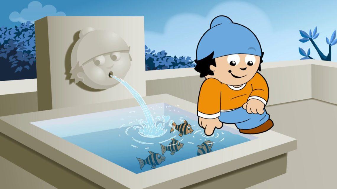 Conni am Wasserspeier