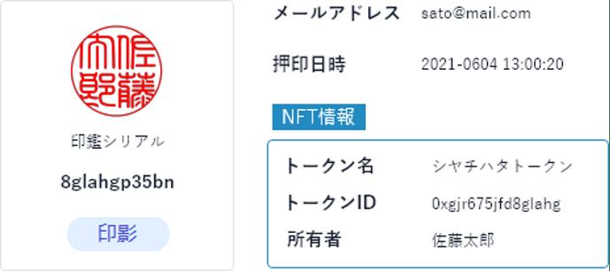 JCBI加入企業のシヤチハタとケンタウロスワークスが、日本初!NFTを活用した電子印鑑を共同開発
