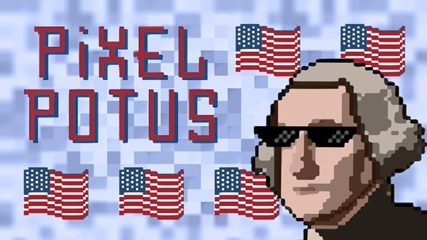 PixelPotus Announces Collecting & Earning of Unique US President NFTs
