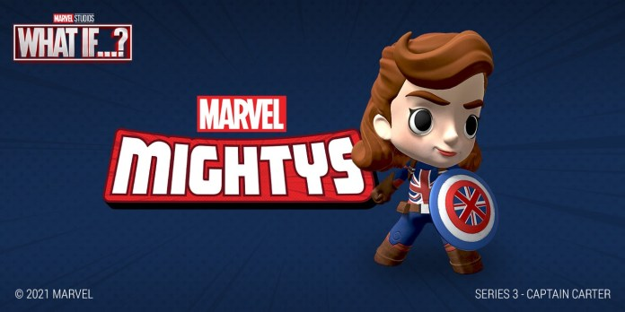 Marvel Mightys—Series 3—Captain Carter