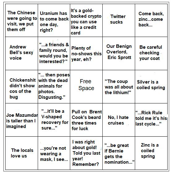 pdac bingo