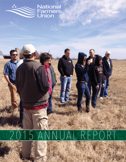 2015-NFU-Annual-Report