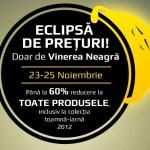 Black Friday 2012 continuă la ZorileStore.ro