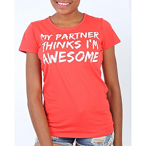 24 My Partner T-Shirt - Red