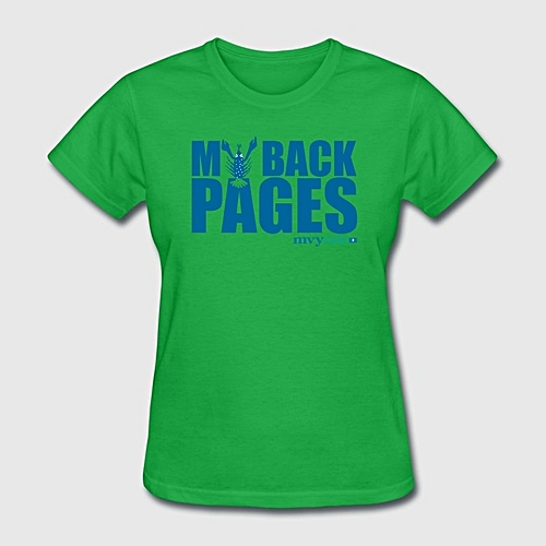 Generic My Back Pages Logo Women's Fashion T-shirt