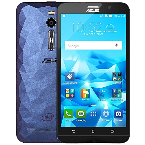 ASUS Refurbished ASUS ZenFone 2 ( ZE551ML ) 5.5 Inch FHD Screen Android 5.0 4G Phablet Intel Z3560 64bit Quad Core 1.8GHz 4GB RAM 16GB ROM 13.0MP + 5.0MP Dual Cameras-BLUE