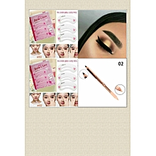 Eyebrow Stencil & Concealer Pencil