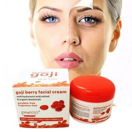 Goji Berry Skin Whitening, Anti Aging,anti Wrinkle Face Lift Deep Moisturizing Cream-113g