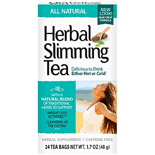 21st Century Herbal Slimming Tea All Natural - 24 Tea Bags