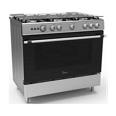 Midea 5 Gas Burners Gas Cooker