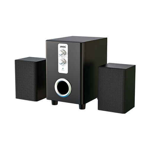 3 In 1 Home Speaker 3.5mm Wired Computer PC Speakers USB Powered Sound Box