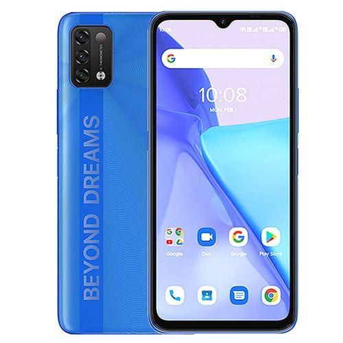 "Power 5 (3GB,64GB ROM) 6150mAh Android 11 Infrared Temperature Sensor 2.0 (16MP+8MP+5MP)+8MP 6.53""FullView-SapphireBlue"