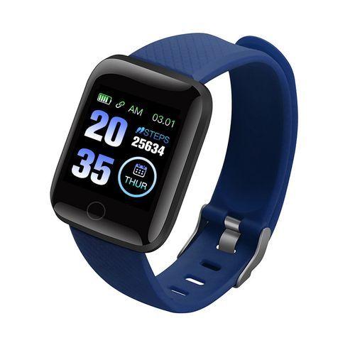 116Plus Digital Smart Watch - Blue