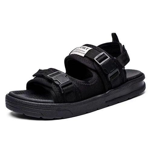 Black Smart Casual Sandals