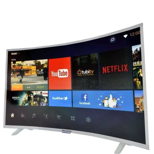 """32"""" INCH SMART CURVED TV With Netflix (1year Warranty)"""