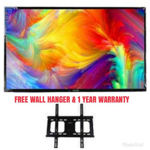 32'' LED Television + Free Wall Hanger Promo -1Year Warranty
