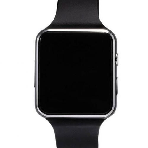 Sleek X6 Smartwatch For Android & Iphone Devices - Black