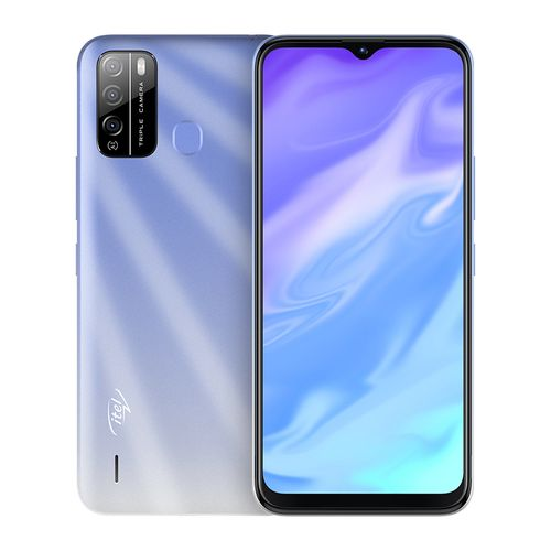 "S16 6.5"" HD FullScreen, 16GB ROM + 1GB RAM, Android 10, 4000mAh, 8MP Triple Rear Camera, Face ID & Fingerprint - Blue"
