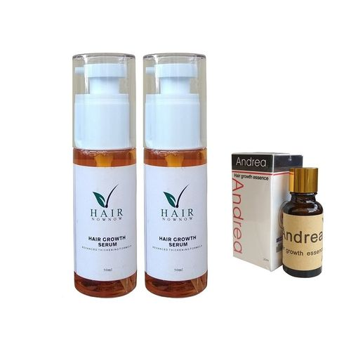 Hair Growth Serum X2 +FreeGift (Andrea Oil)