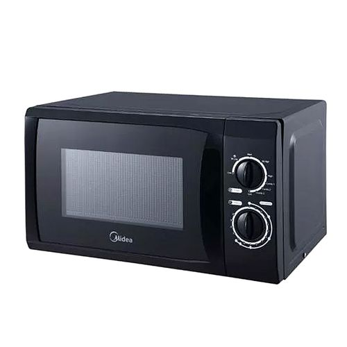 MICROWAVE OVEN WITH GRILL FUNCTION BLACK